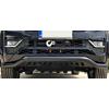 Защита переднего бампера (GloPlus Black, Ус с защитой черный) для Volkswagen Amarok 2017+ (Arpplus, PST22AM17)