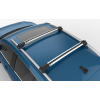Поперечины на рейлинги (Turtle Air1, сер., с ключем, 2шт.) для Saab 9-5 (YS3E) Estate 1998-2010 (Can-Otomotiv, MC01001-9090S)