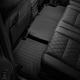 Коврик в салон (с бортиком, задние, без консоли, черные) для Land Rover Range Rover Long 2018-2019 (Weathertech, 4414052)