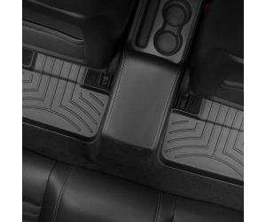 Коврик в салон (с бортиком, задние, черные) для Dodge Challenger 2011+ (Weathertech, 443862)