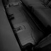 Коврик в салон (с бортиком, задние, черные, 3 ряд) для Land Rover Discovery 5 2017-2020 (Weathertech, 444807)