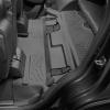 Коврик в салон (с бортиком, задние, черные, 3 ряд) для Cadillac Escalade 2015-2020 (Weathertech, 446075)