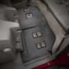 Коврик в салон (с бортиком, задние, черные, 3 ряд) для Cadillac Escalade ESV 2015-2020 (Weathertech, 446079)