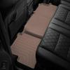Коврик в салон (с бортиком, задние, бежевые) для Land Rover Evoque 2012-2018 (Weathertech, 454042)
