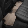 Коврик в салон (с бортиком, задние, бежевые) для Land Rover Evoque 2014-2018 (Weathertech, 454043)