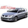 """Накладки на пороги """"EGR-Style"""" Mitsubishi Lancer IX 2003- (AD-Tuning, ML04)"""