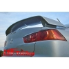 Задний спойлер на крышку багажника для Mitsubishi Lancer X (AD-Tuning, ML106)