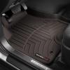 Коврик в салон (с бортиком, передние, какао) для Toyota Land Cruiser 200/Lexus LX570 2008-2012 (Weathertech, 471571)