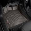 Коврик в салон (с бортиком, передние, какао) для Audi Q5/Porsche Macan 2009-2017 (Weathertech, 472301)