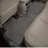 Коврик в салон (с бортиком, задние, какао) для Acura MDX 2014-2020 (Weathertech, 475762)