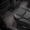 Коврик в салон (с бортиком, задние, какао) для Cadillac Escalade (5-6 мест) 2015-2020 (Weathertech, 476952)