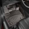 Коврик в салон (с бортиком, передние, какао) для Ford Edge Eur/Lincoln MKX 2016+ (Weathertech, 478451)