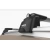 Поперечины на рейлинги (Turtle Air2, сер., с ключем, 2шт.) для Fiat Panda (319) Hb 2012+ (Can-Otomotiv, MC02001-8690S)