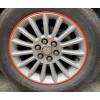 Защита колесных литых дисков автомобиля от сколов (Красный) (KAI, RDC08TRM)