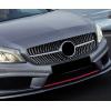 Решетка радиатора (Diamond SIlver) для Mercedes A-сlass (W176) 2012-2018 (Cixtai, cxk-bz01-1003a)