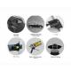 Поперечины на рейлинги (Turtle Air1, черн., с ключем, 2шт.) для Suzuki Grand Vitara XL7 Suv 1999-2006 (Can-Otomotiv, MC01001-7878B)
