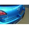Накладки на задний бампер Mazda 3 5D 2009- (Alu-Frost, 10-2123)