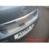 Накладка на задний бампер Opel Astra III H 4D 2004-2009 (Alu-Frost, 10-2187)