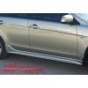 Аэродинамические  пороги для Mitsubishi Lancer X (AD-Tuning, ML108)