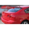 "Задний спойлер на крышку багажника ""сабля"" для Mazda 3 2003- (AD-Tuning, M33SB)"