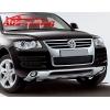 "Накладка на передний бампер ""OEM Style"" для Volkswagen Touareg 2007- (AD-Tuning, VWTG.FPS.01)"