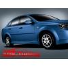 Аэродинамические накладки на пороги для Chevrolet Lacetti (Ad-Tuning, AdTun-CL022)