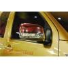 Хром накладки зеркал с повторителем поворота для Nissan Navara 2005- (Carryboy, cb-723ml-nr)