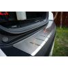 НАКЛАДКА С ЗАГИБОМ НА ЗАДНИЙ БАМПЕР ДЛЯ BMW X5 (E70) 2010+ (ALU-FROST, 25-3467)