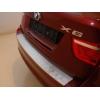 НАКЛАДКА С ЗАГИБОМ НА ЗАДНИЙ БАМПЕР ДЛЯ BMW X6 (E71) 2008-2014 (ALU-FROST, 25-3468)