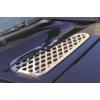Хром накладки на воздухозаборник Toyota FJ-Cruiser (Winbo, E098632)